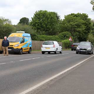 Image demonstrating Speeding drivers tackled in Warkworth