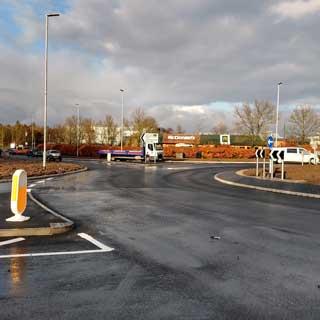 Westmorland Way roundabout
