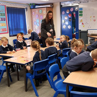 Image demonstrating Eastlea Primary is recognised for its pupil progress