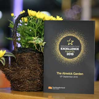 Image demonstrating Excellence Awards winners announced