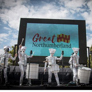 Image demonstrating New Cultural Fund for Northumberland planned