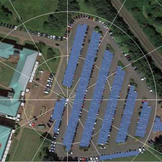 Image demonstrating Solar farm plan for county HQ gets green light