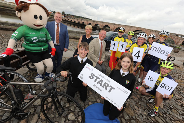 Image demonstrating North of Tyne takes centre stage for national cycle race