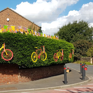 Image demonstrating Communities invited to dress their area to impress for Tour of Britain