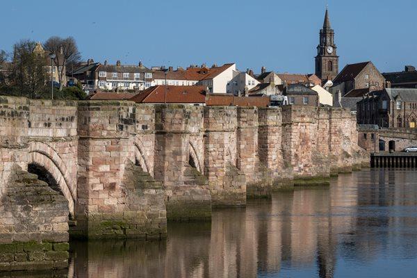 Image demonstrating Latest on restoration of Berwick Old Bridge