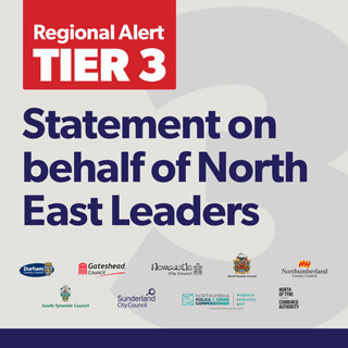 Image demonstrating Government decision to keep North East in Tier 3