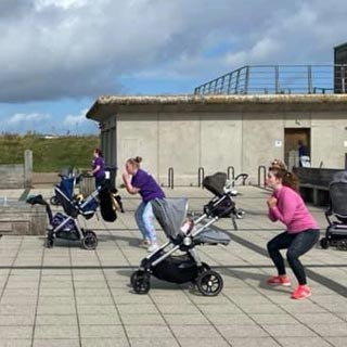 Mams on the Move outdoor exercise classes