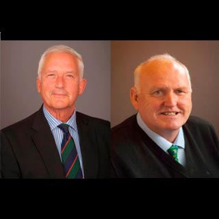 Councillors Glen Sanderson and Richard Dodd