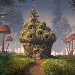 Artist's impression of play village
