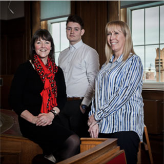 Three apprentices from our Apprenticeship scheme