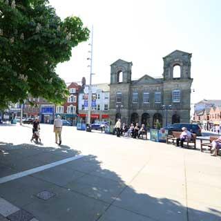 Morpeth's Market Square