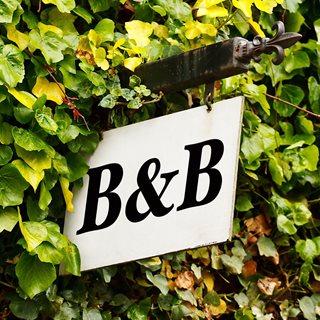 Photo of B&B sign
