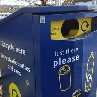 A new recycling bin