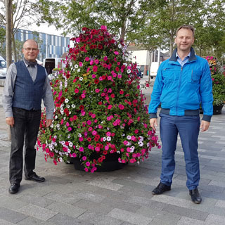 Blyth Valley MP Ian Levy and Councillor Richard Wearmouth