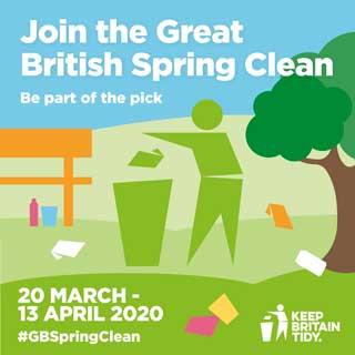 Great British Spring Clean logo