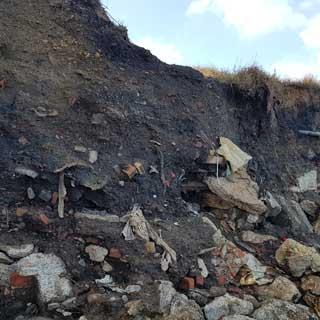 Clifftops at Lynemouth