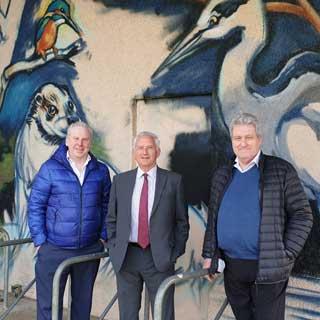 Councillors at Tyne Riverside Country Park