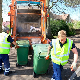 Bank holiday bin collections day changes