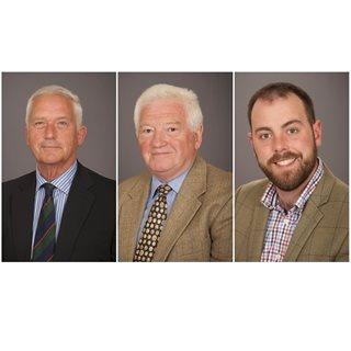 Councillors Glen Sanderson, Jeff Watson and Guy Renner-Thompson
