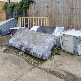 Photo of fly-tipping