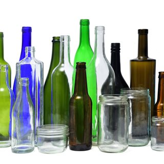 Photo of glass bottles and jars