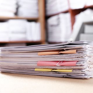 Photo of pile documents