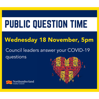 Public question time poster