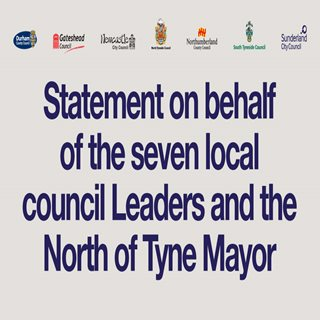 Image showing all council logos and stating joint statement