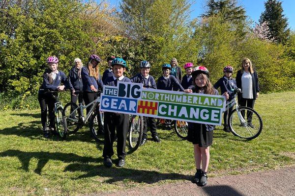 Eastlea Primary Big Northumberland Gear Change