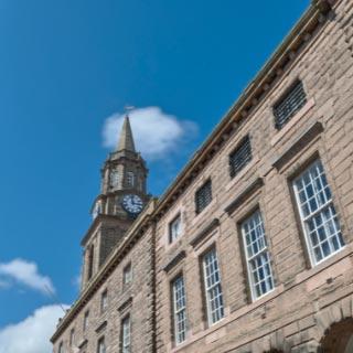 Marygate building in Berwick