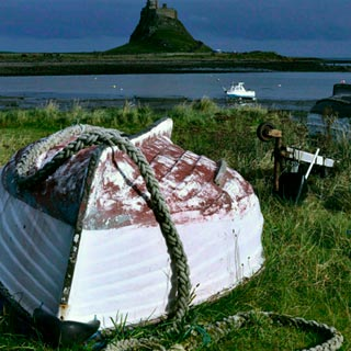 Holy Island by Simon Holding from the Discover our Land photo competition