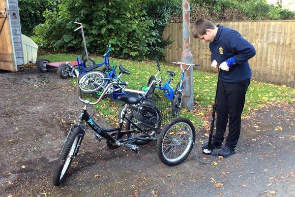 Barndale House School - Cycling