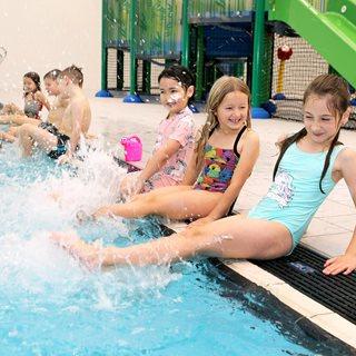 Children in pool - Ponteland Leisure