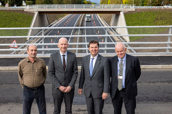 Image demonstrating New A69 Hexham junction upgrade opens to traffic