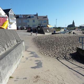 Image showing Newbiggin Promenade improvement works to start