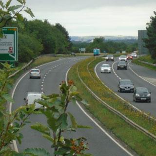 A189 at Cramlington