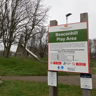 Image demonstrating Improvements for Beaconhill play area