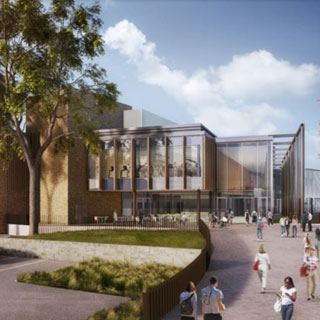 An impression of the new leisure centre