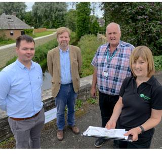 Image demonstrating Ponteland flood scheme complete