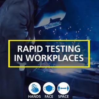 Workplace testing
