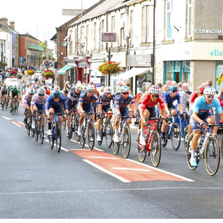 Image demonstrating County takes centre stage in Tour of Britain