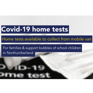 Image demonstrating Mobile van pilot to offer Covid home testing kits