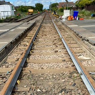 The new rail lines on the Northumberland Line