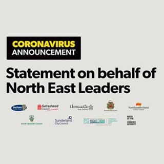 Statement on behalf of leaders graphic - with all logos