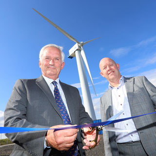 Image demonstrating Council welcomes new Blyth wind turbine facility