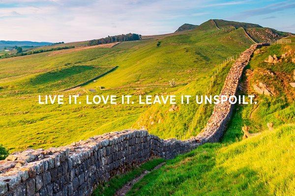 Live it. Love it. Leave it unspoilt
