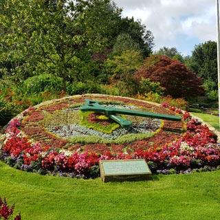 Morpeth Flower Clock