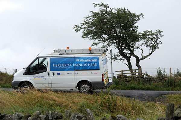 Image demonstrating New multi million pound scheme will bring superfast broadband to more Northumberland communities