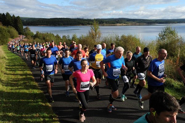 Image demonstrating Record turnout expected at Kielder Marathon weekend