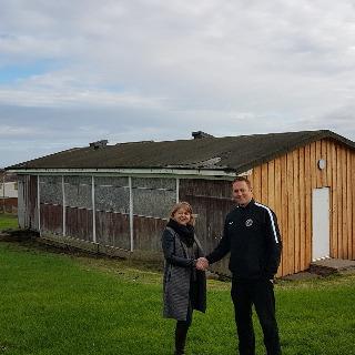 Image demonstrating Council cash to refurbish Berwick football pavilion